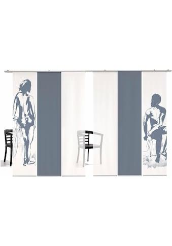 emotion textiles Schiebegardine »Mann/Frau Farbig«, HxB: 260x60, inkl.... kaufen