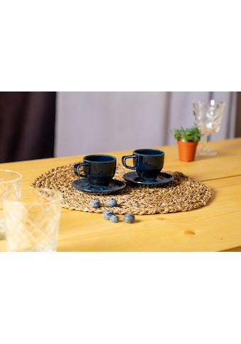 Eschenbach Espressotasse »Kaleido«, (Set, 2 Espressotassen-2 Espressountertassen),... kaufen