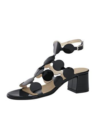 Sandalette mit dekorativen Riemchen kaufen