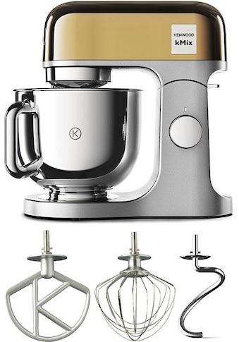 KENWOOD Küchenmaschine »KMX760YG kMix Premium Edition Gold«, mit 3-tlg. Pâtisserie-Set kaufen