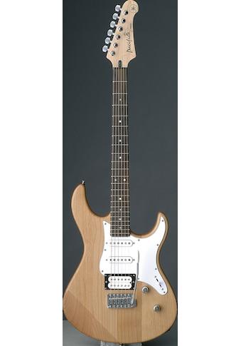 Yamaha E-Gitarre »PA112VYNSRL, Yellow Natural Satin« kaufen