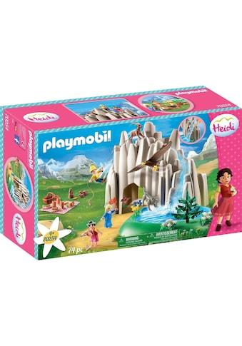 Playmobil® Konstruktions-Spielset »Am Kristallsee mit Heidi, Peter und Clara (70254),... kaufen
