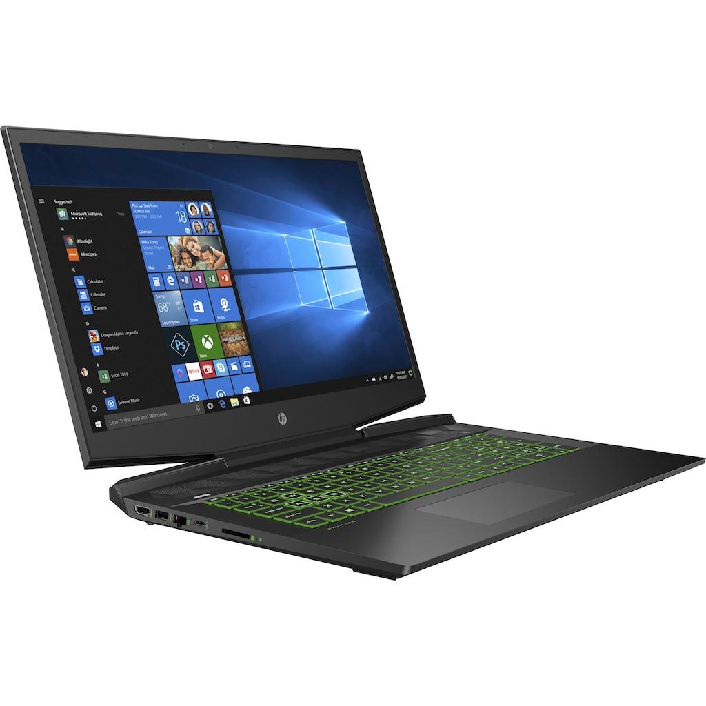 "HP Notebook »Pavilion Gaming 17-cd1260ng«, (43,9 cm/17,3 "" Intel Core i5 GeForce GTX 1650 Ti\r\n 1000 GB SSD), Kostenloses Upgrade auf Windows 11, sobald verfügbar"