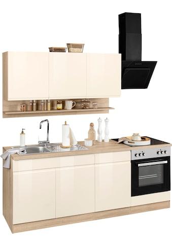 HELD MÖBEL Küchenzeile »Virginia«, ohne E-Geräte, Breite 210 cm kaufen