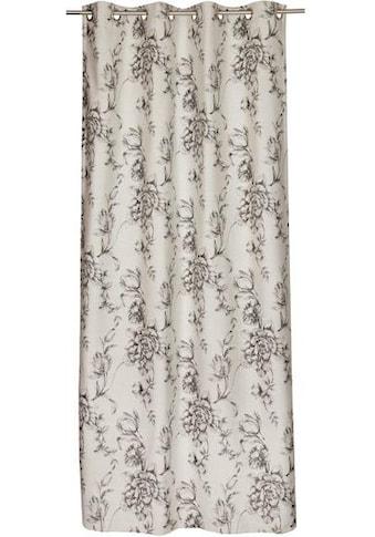 SCHÖNER WOHNEN-Kollektion Vorhang nach Maß »Vintage«, Blütendesigns in Jaquardstruktur kaufen