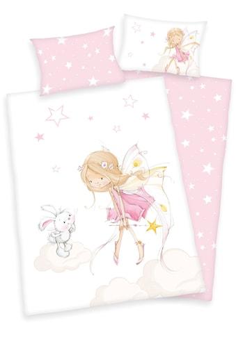 Baby Best Kinderbettwäsche »Little Fairy«, mit niedlichem Feen-Motiv kaufen