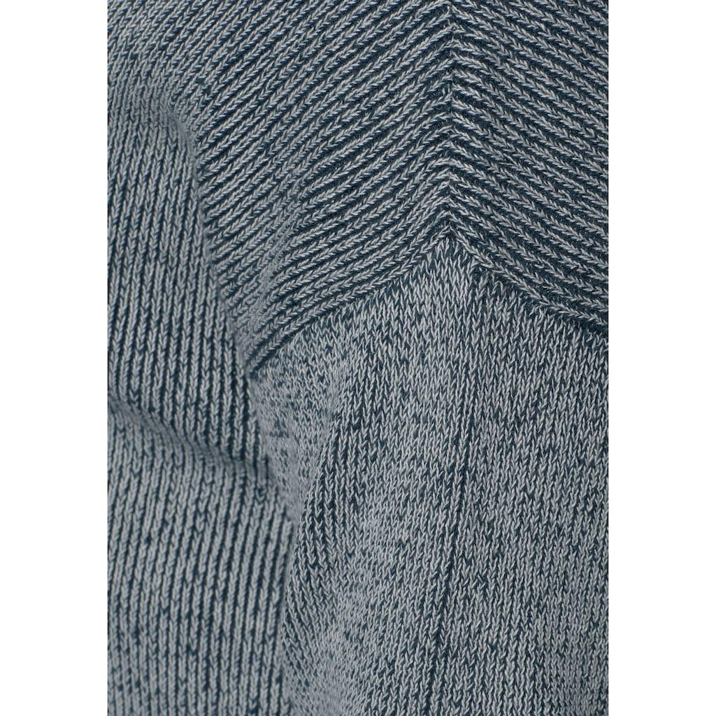 Arizona Strickpullover »in Washed-Optik«, Washed-Optik