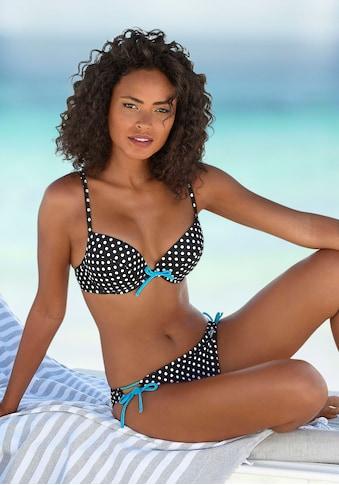 Venice Beach Push-Up-Bikini, mit kontrastfarbenen Details kaufen