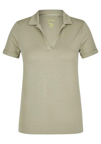 VIA APPIA Sportives T - Shirt mit Umlegekragen kaufen