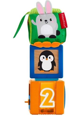 Fisher-Price® Spielbausteine »Babys bunte Tiersteine«, (3 St.) kaufen