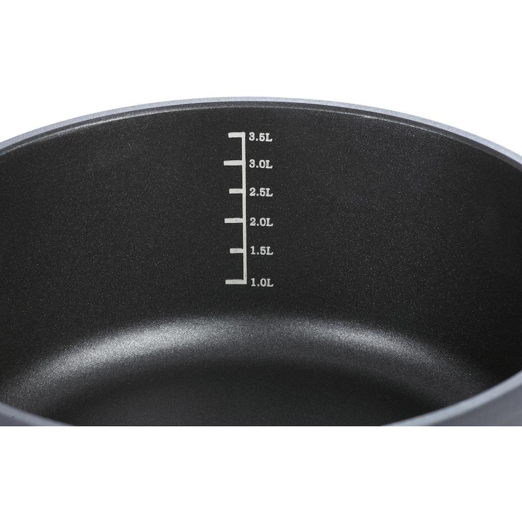 GSW Kasserolle »SilcoGuss noir«, Aluminiumguss, (1 tlg.), Induktion