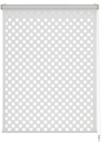 Doppelrollo »EASYFIX Doppelrollo Cut - Out Quadrat«, GARDINIA, Lichtschutz, ohne Bohren kaufen