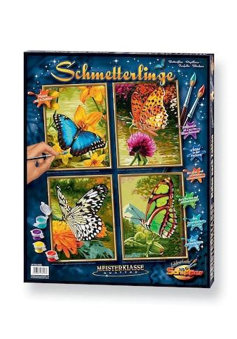 Schipper Malen nach Zahlen »Meisterklasse Quattro - Schmetterling«, Made in Germany kaufen