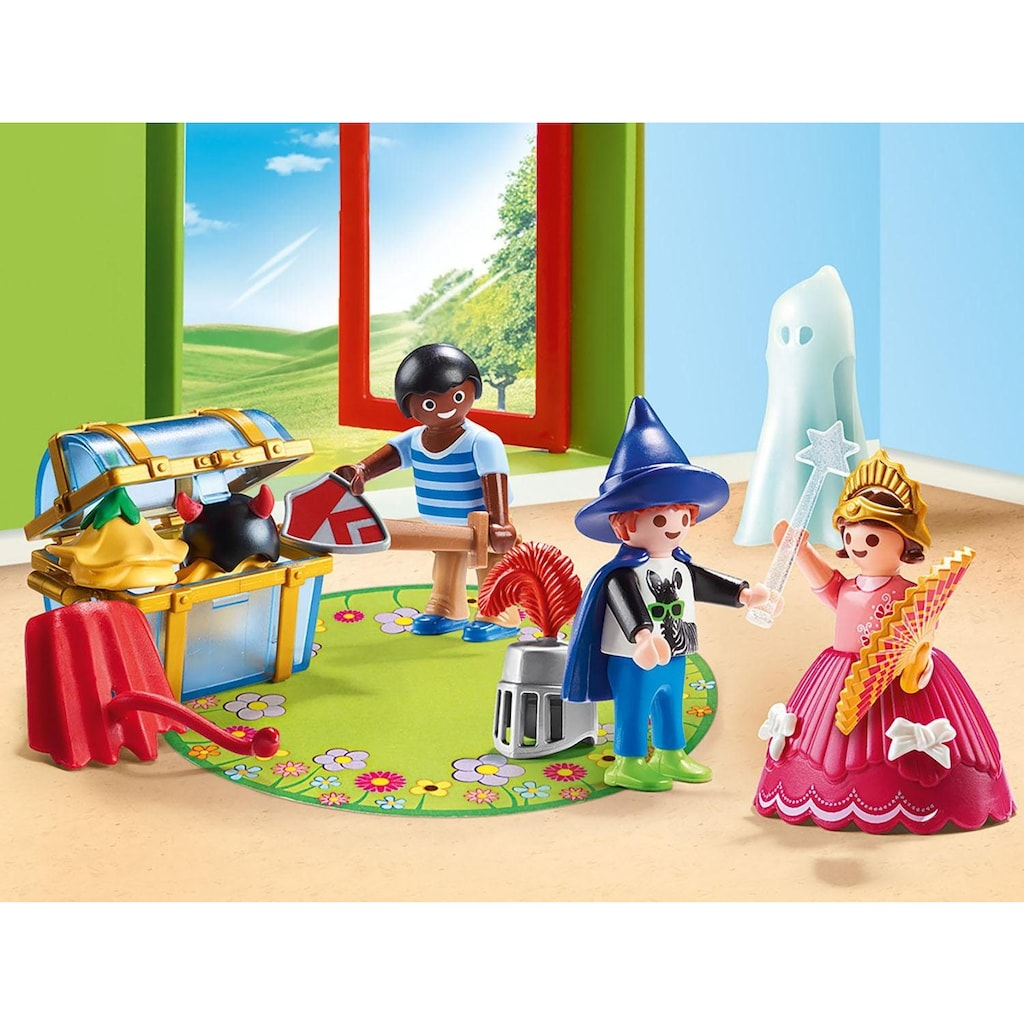 Playmobil® Konstruktions-Spielset »Kinder mit Verkleidungskiste (70283), City Life«, ; Made in Germany