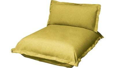 TOM TAILOR Chaiselongue »CUSHION«, kurz, Sitztiefe 65 cm, inspiriert von Pantone 2021 kaufen