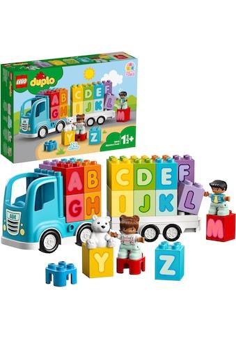 """LEGO® Konstruktionsspielsteine """"Mein erster ABC - Lastwagen (10915), LEGO® DUPLO® Creative Play"""", Kunststoff, (36 - tlg.) kaufen"""