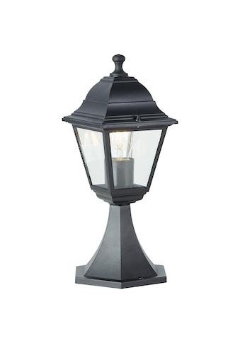 Brilliant Leuchten Außen-Wandleuchte, E27, Nissie Außensockelleuchte 37cm schwarz kaufen