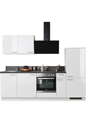 Express Küchen Küchenzeile »Scafa«, vormontiert, mit Vollauszug und... kaufen
