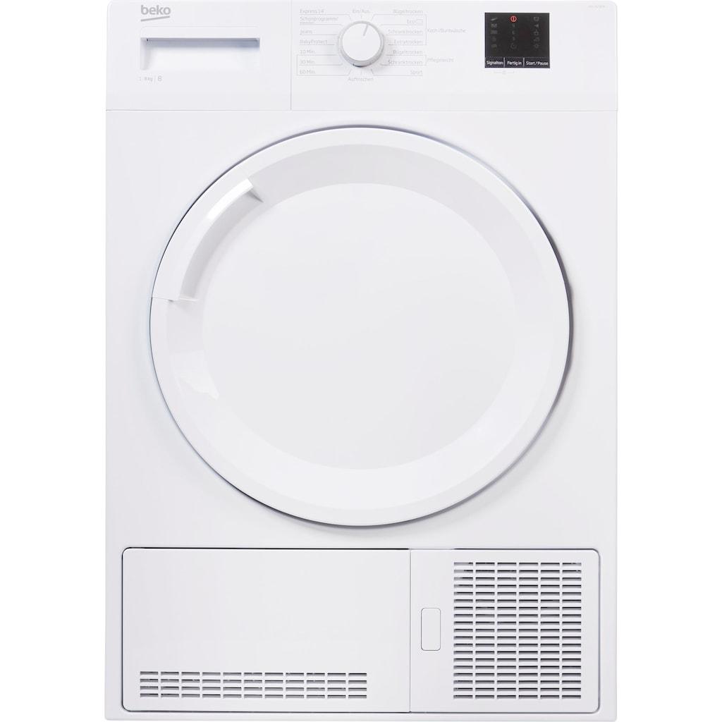 BEKO Kondenstrockner »DCU 8230 N«