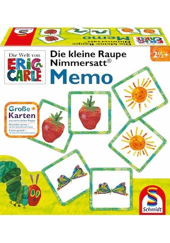 Schmidt Spiele Spiel »Die kleine Raupe Nimmersatt® - Memo« kaufen